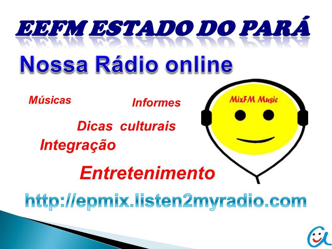 Músicas Informes Dicas culturais Integração Entretenimento