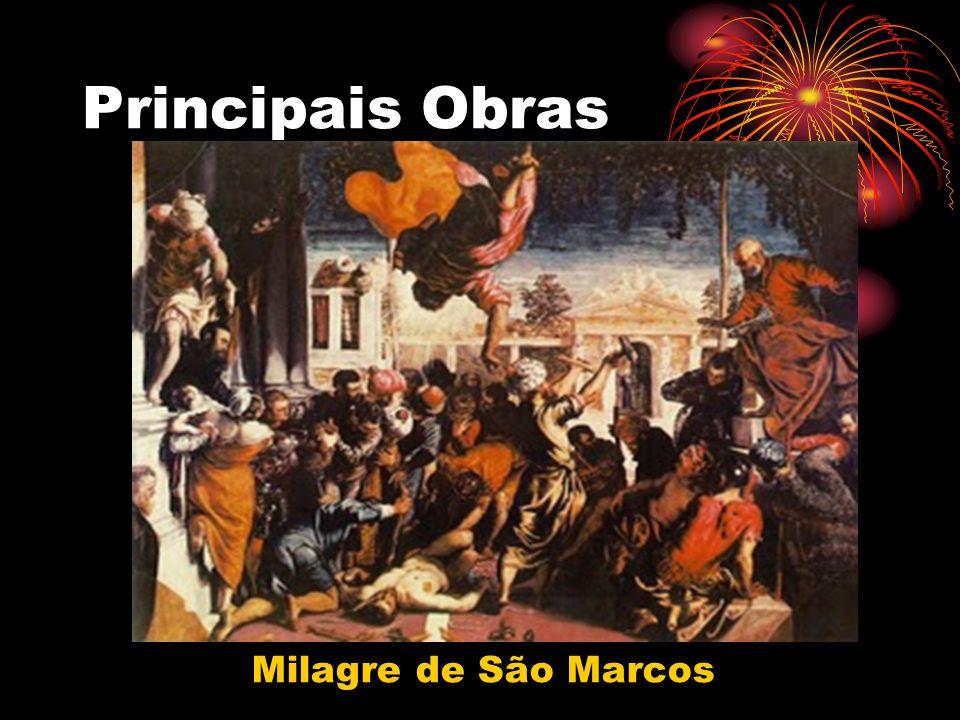 Principais Obras Milagre de São Marcos