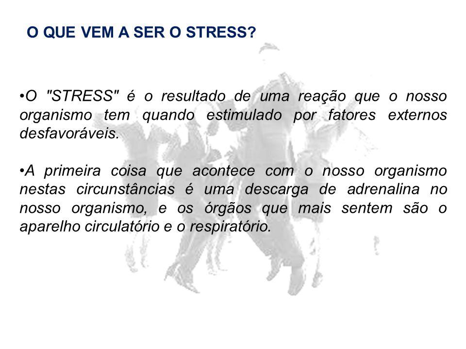 O QUE VEM A SER O STRESS.