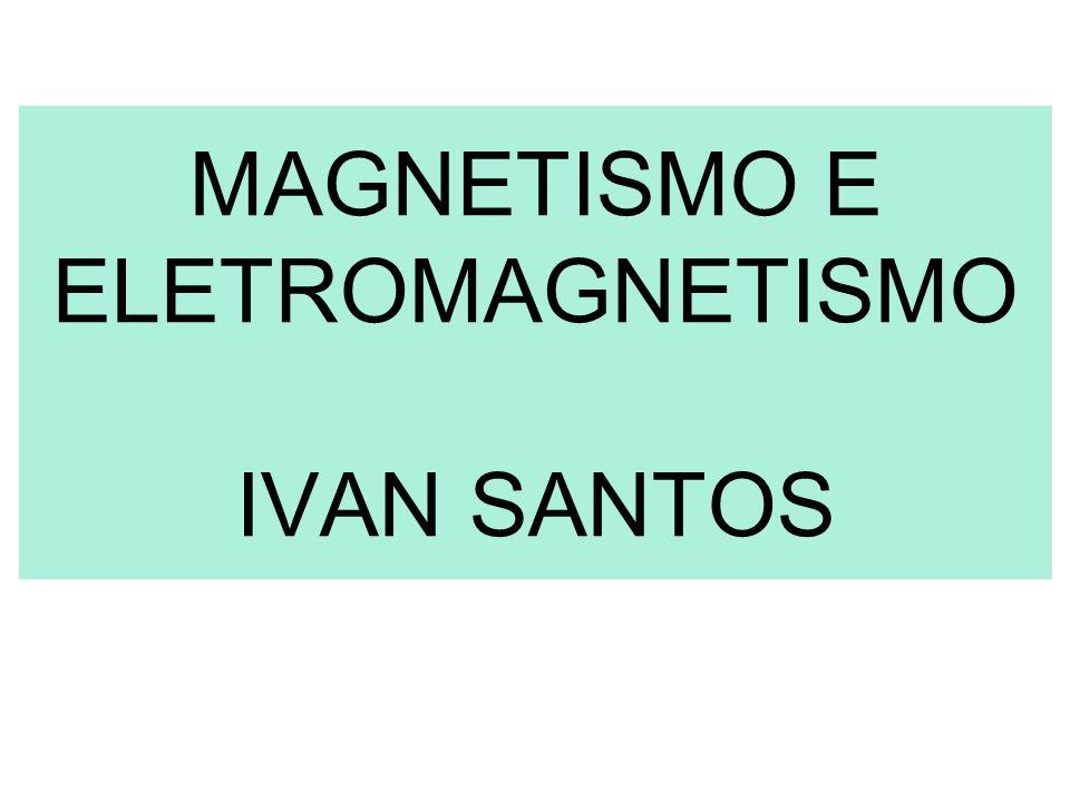 MAGNETISMO E ELETROMAGNETISMO IVAN SANTOS