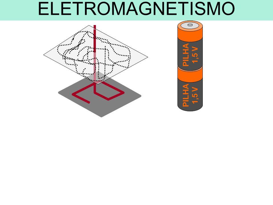 PILHA 1,5 V PILHA 1,5 V ELETROMAGNETISMO