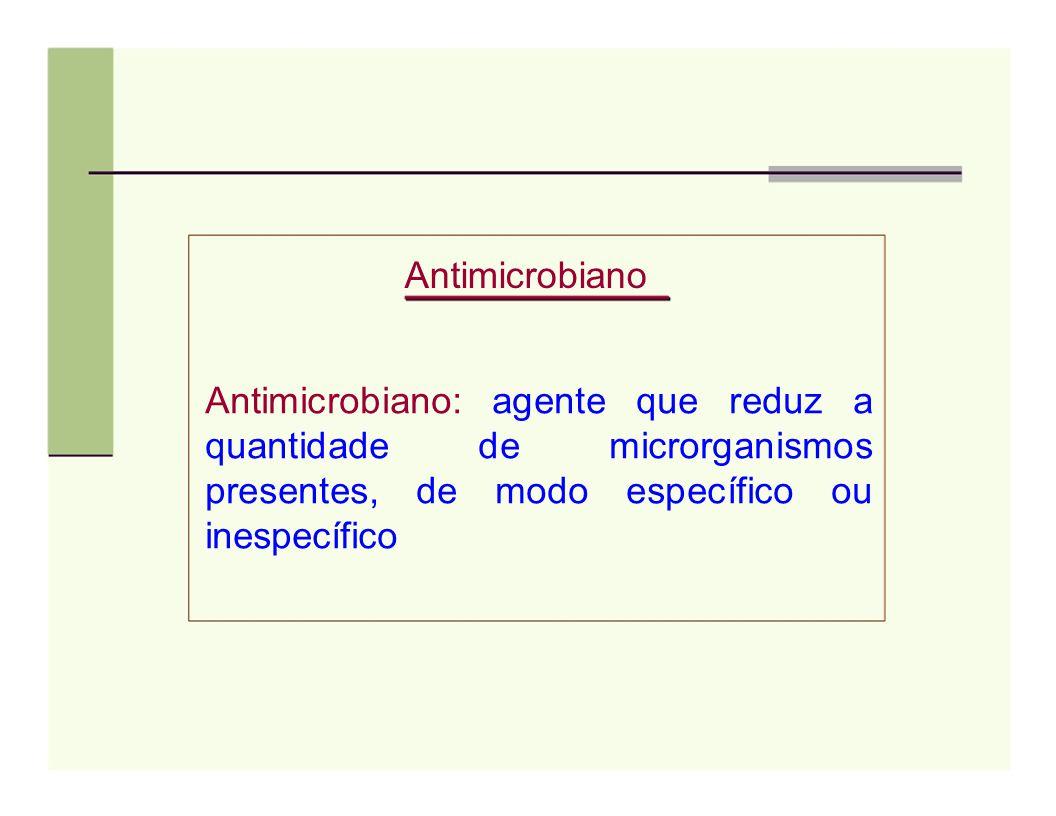 Outras definições Quimioterápico: São moléculas produzidas exclusivamente por síntese química, não ocorrendo similares na natureza.