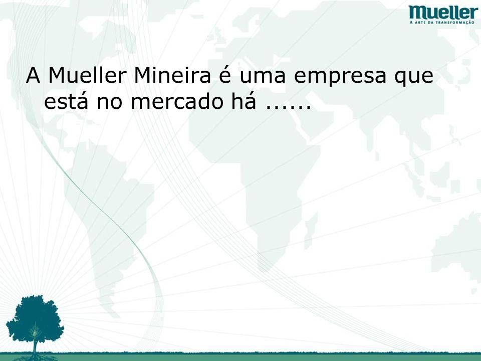 A Mueller Mineira é uma empresa que está no mercado há......