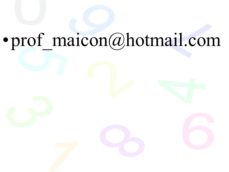 prof_maicon@hotmail.com