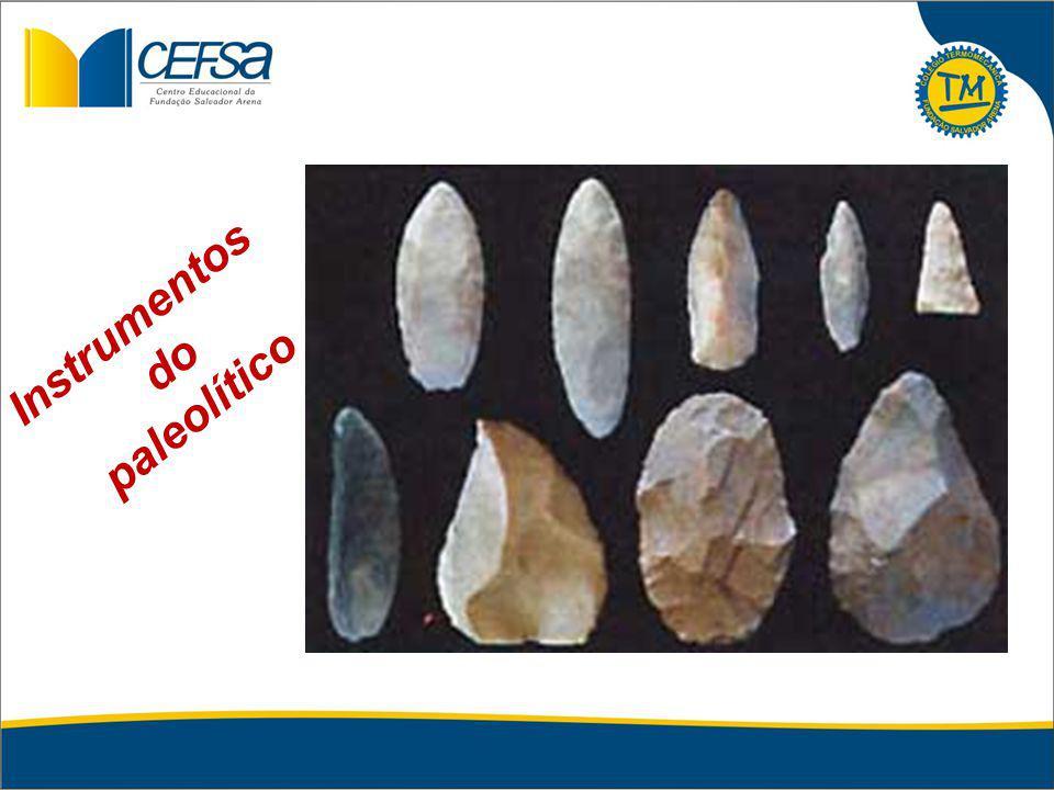 Instrumentos do paleolítico