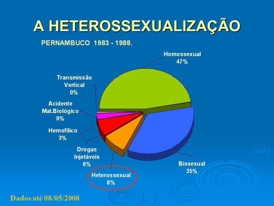 A HETEROSSEXUALIZAÇÃO Dados até 08/05/2008