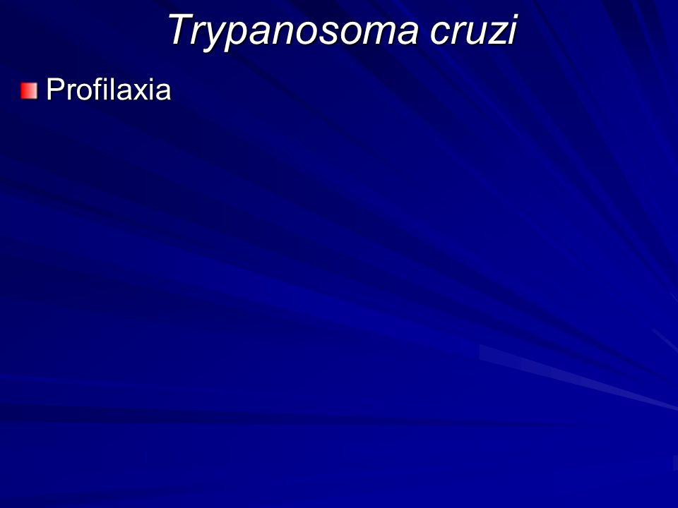 Trypanosoma cruzi Profilaxia