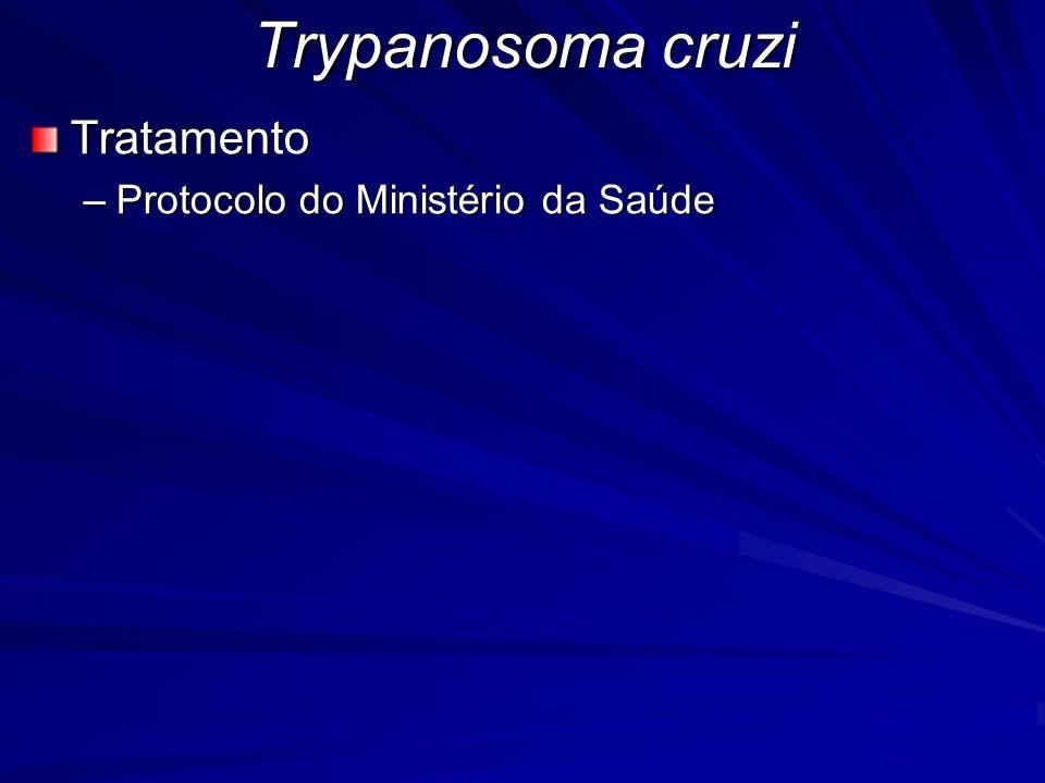 Tratamento –Protocolo do Ministério da Saúde