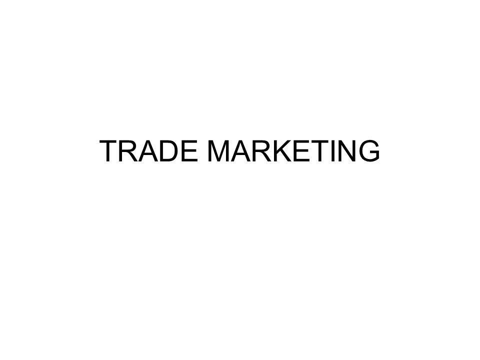 o que significa Trade Marketing?