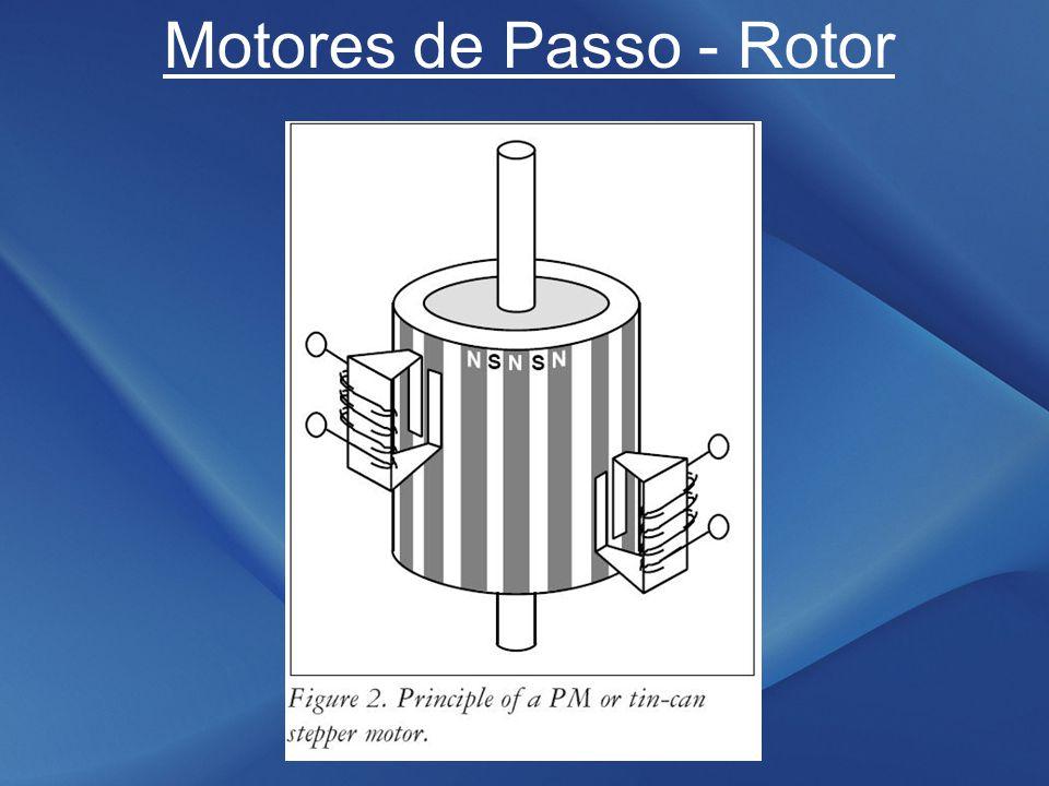 Motores de Passo - Rotor