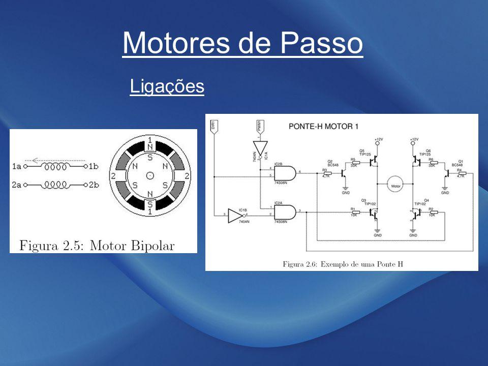 Motores de Passo Ligações