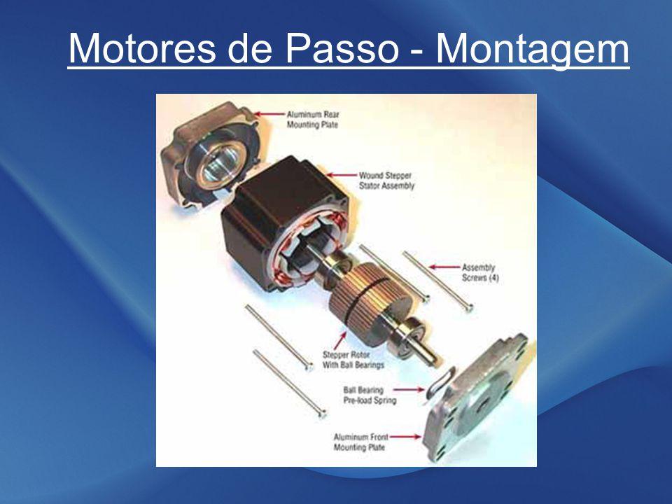 Motores de Passo Passo Completo – Baixo Torque