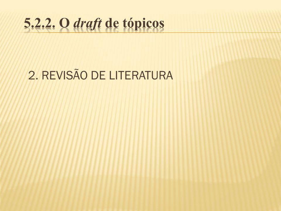 2. REVISÃO DE LITERATURA