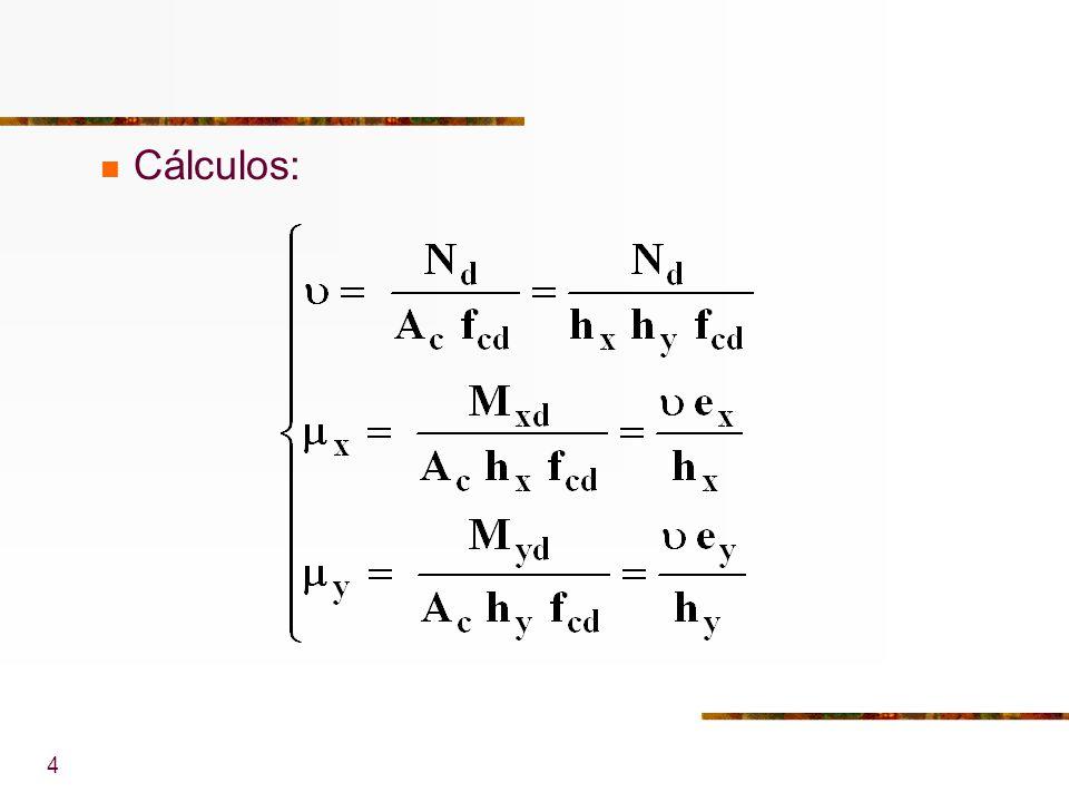4 Cálculos: