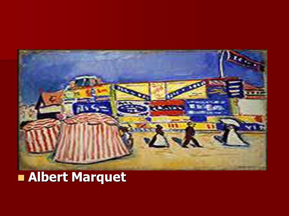 Albert Marquet Albert Marquet