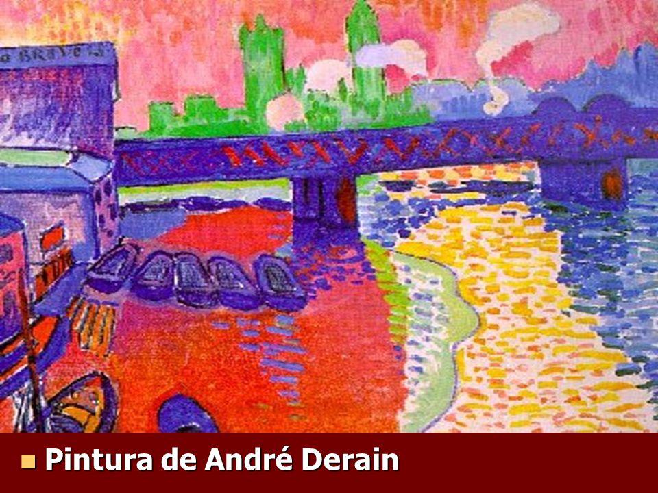 Pintura de André Derain Pintura de André Derain