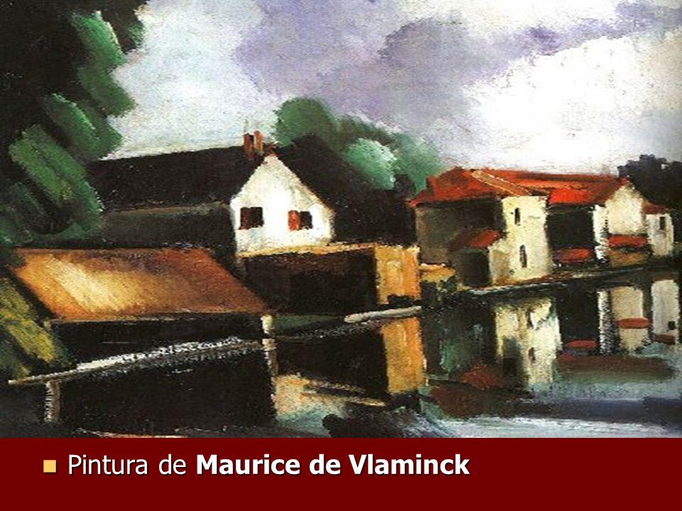 Pintura de Maurice de Vlaminck Pintura de Maurice de Vlaminck
