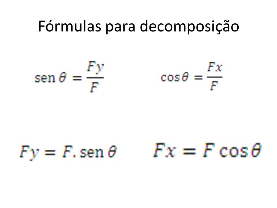 Fórmulas para decomposição