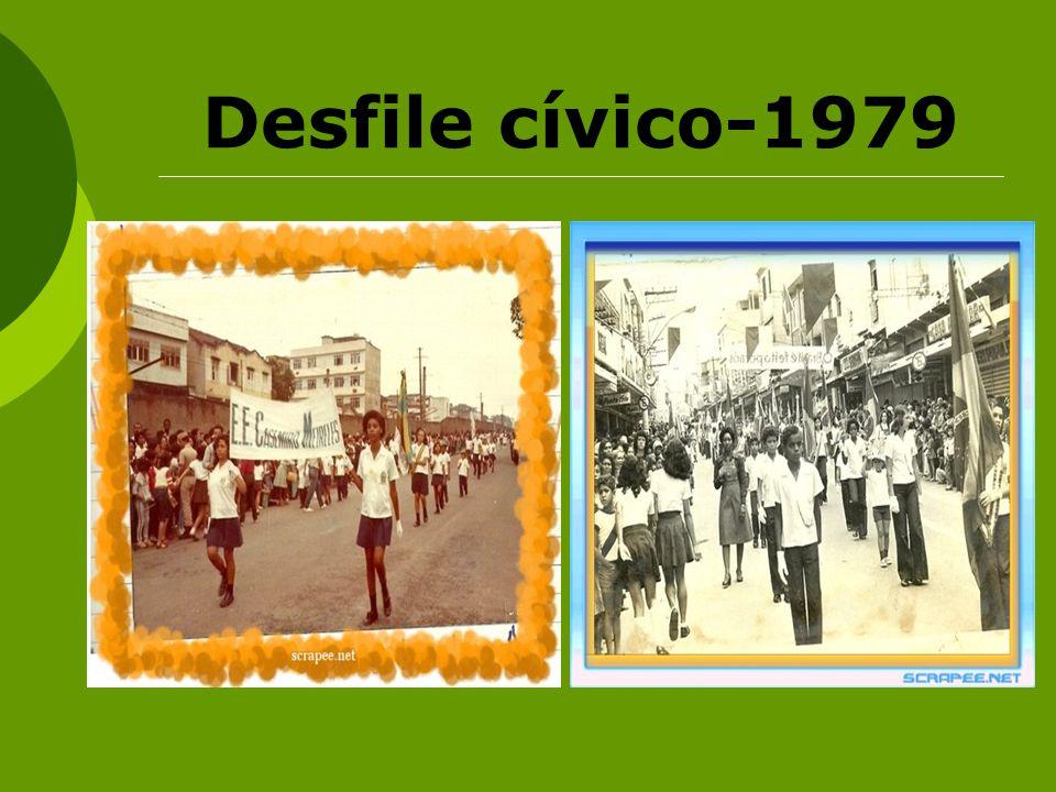 Desfile cívico-1979