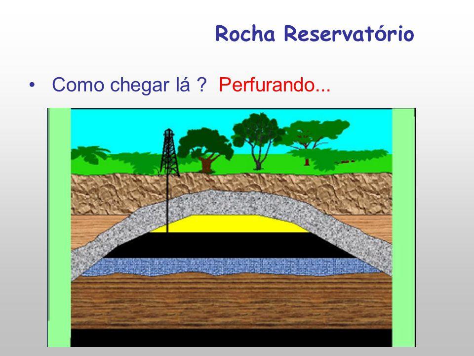 Rocha Reservat ó rio Como chegar lá ? Perfurando...