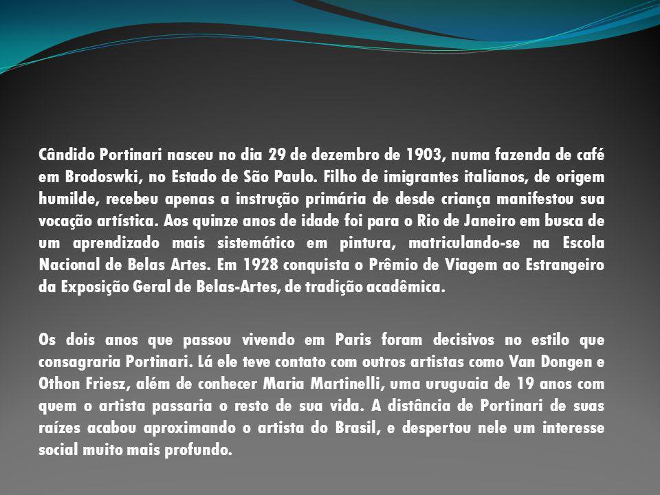 Ganhando nova notoriedade entre a imprensa, Portinari expõe três telas no Pavilhão Brasil da Feira Mundial em Nova Iorque de 1939.