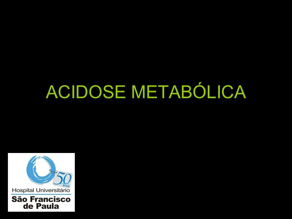 Como diagnosticar acidose metabólica.