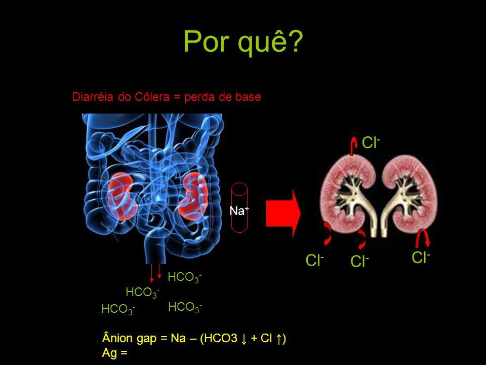 Por quê.H 2 SO 4 H+H+ HSO4- HCO 3 - + H 2 CO 3 CONSUMIDO!.