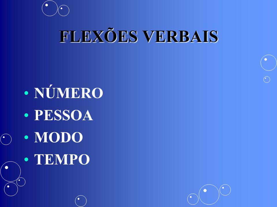 TEMPOS COMPOSTOS Confere determinada significação ao enunciado, indicando geralmente um aspecto verbal diferente daquele expresso pelo mesmo tempo em sua forma simples.