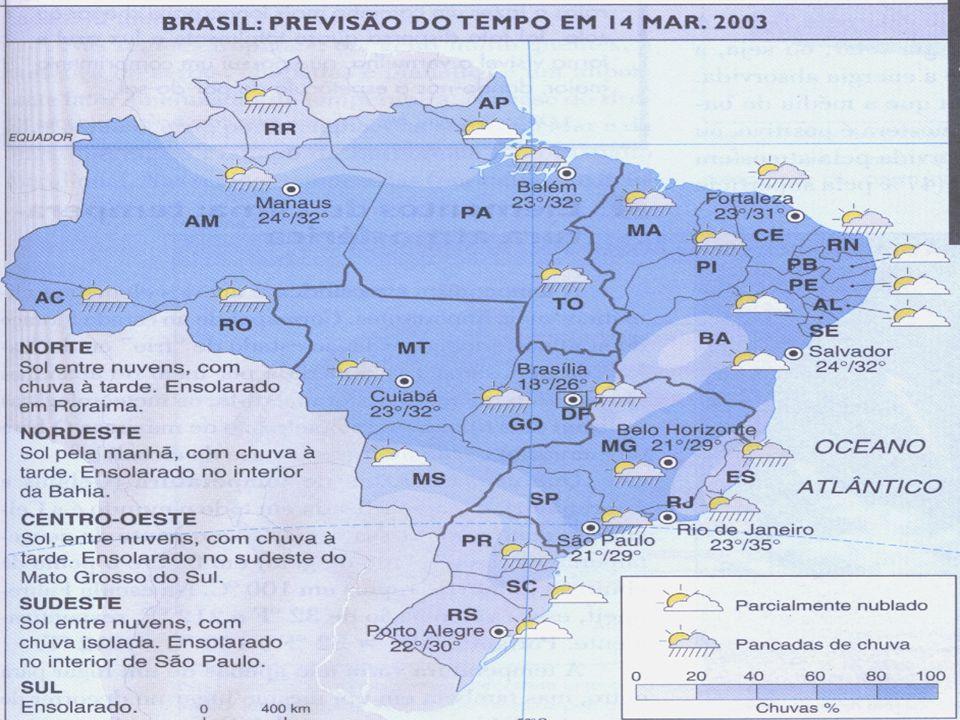 TIPOS DE CLIMA Polares ou Glaciais Temperados Mediterrâneos Tropicais Equatoriais Subtropicais Áridos ou desérticos Semi-áridos