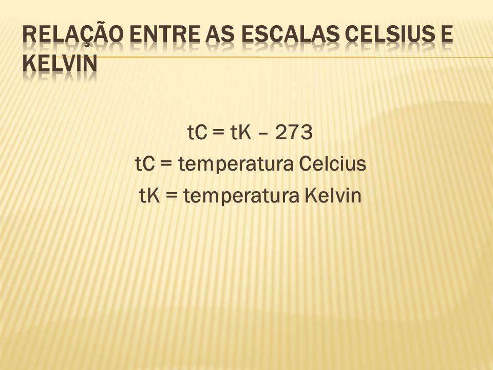 tc /5 = tf - 32 /9 tC = temperatura Celcius tF = temperatura Fahrenheit