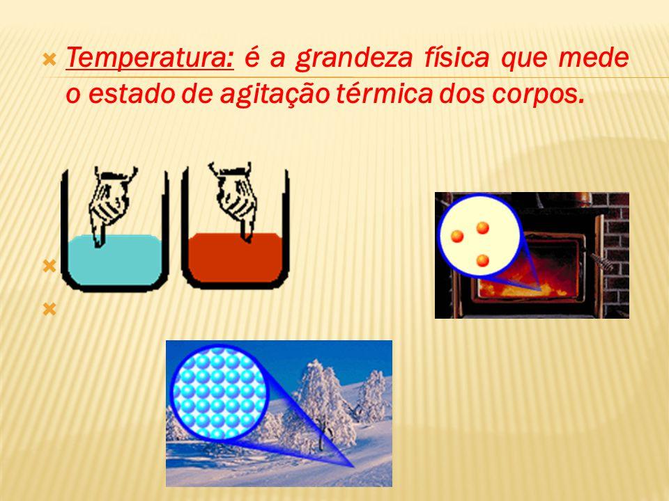 As moléculas dos corpos estão em constante movimento, em constante vibração. A energia de movimento que elas possuem é chamada energia térmica. Se pud