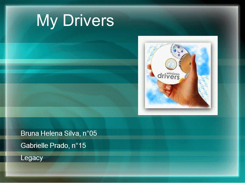 Introdução Um driver é um software, um pequeno arquivo, que permite que o computador se comunique com o hardware ou com os dispositivos.