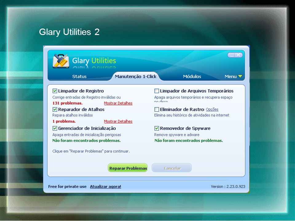 Glary Utilities 2