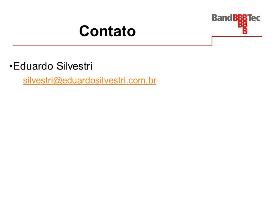 Contato Eduardo Silvestri silvestri@eduardosilvestri.com.br