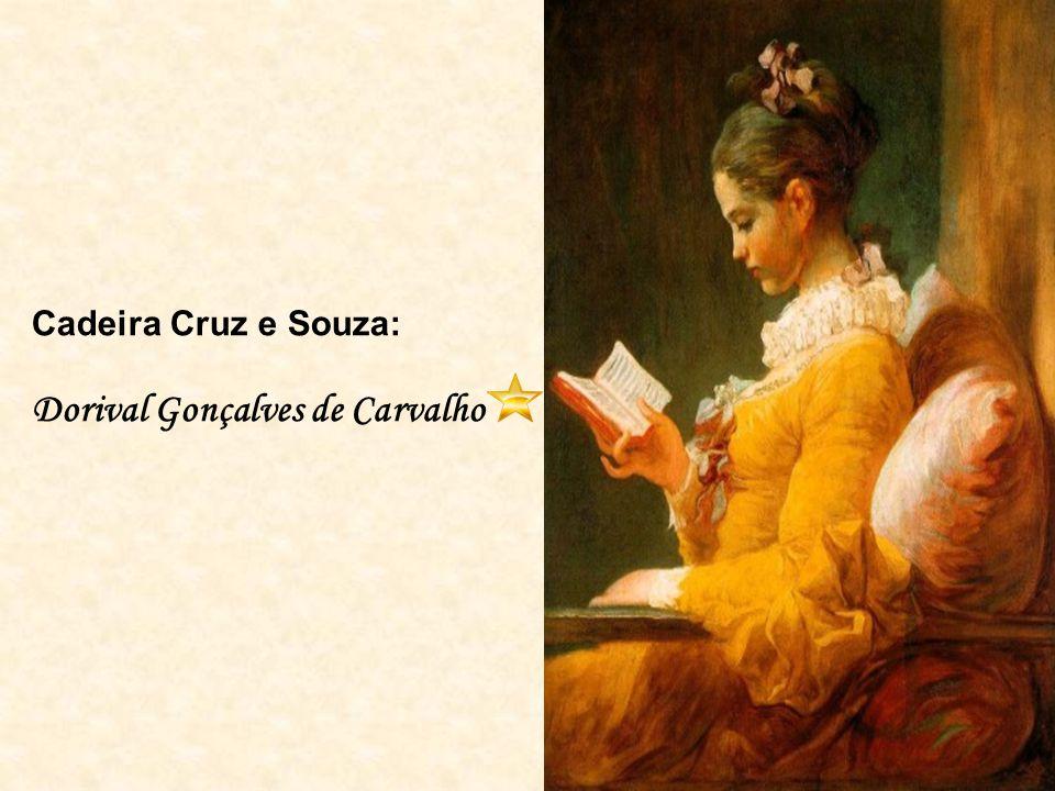 Cadeira Cruz e Souza: Dorival Gonçalves de Carvalho