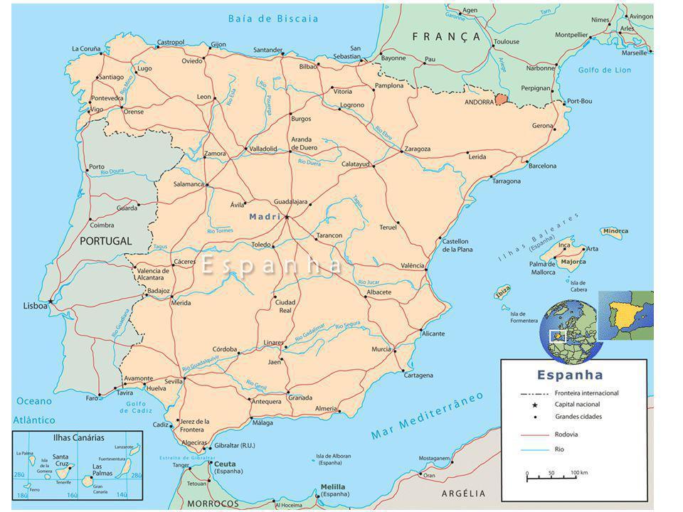 Em comum –Turismo –Línguas latinas (Andorra fala o catalão) –Grandes navegações –Em vários estiveram sob o mesmo governo Portuga e Espanha