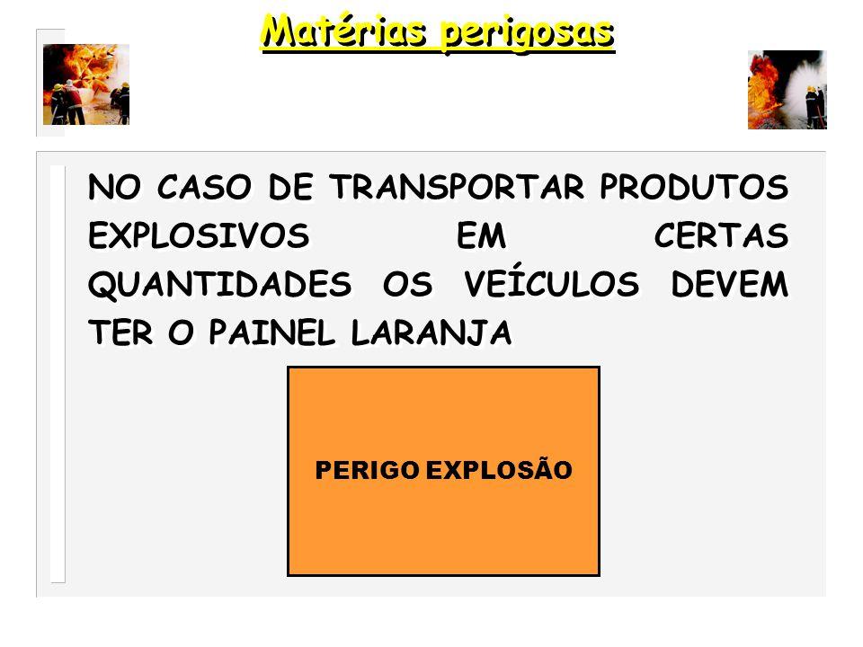 OS NUMEROS DEVEM MANTER-SE LEGIVEIS APÓS INCÊNDIO CERCA DE 15 MINUTOS. 1080 30 Matérias perigosas