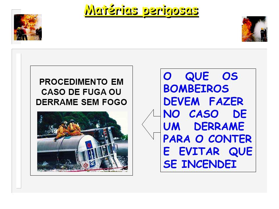 MEDIDAS GERAIS DE SEGURANÇA O QUE OS BOMBEIROS DEVEM FAZER PARA SUA SEGURANÇA E DO PUBLICO OU OUTRAS FORÇAS DE SEGURANÇA EQUIPAMENTO DE PROTECÇÃO INDIVIDUAL EQUIPAMENTO QUE DEVE SER UTILIZADO PELOS BOMBEIROS E OUTROS Matérias perigosas