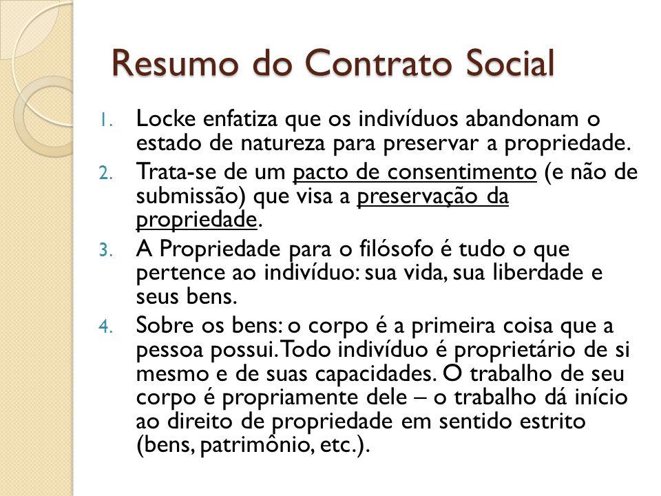Resumo do Contrato Social 1.