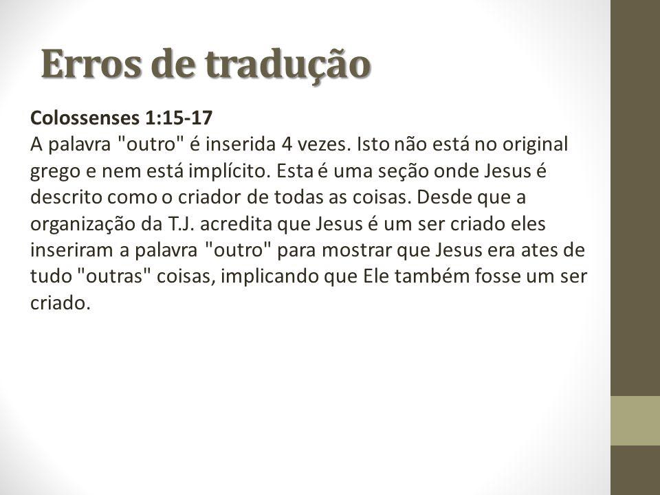 Colossenses 1:15-17 A palavra