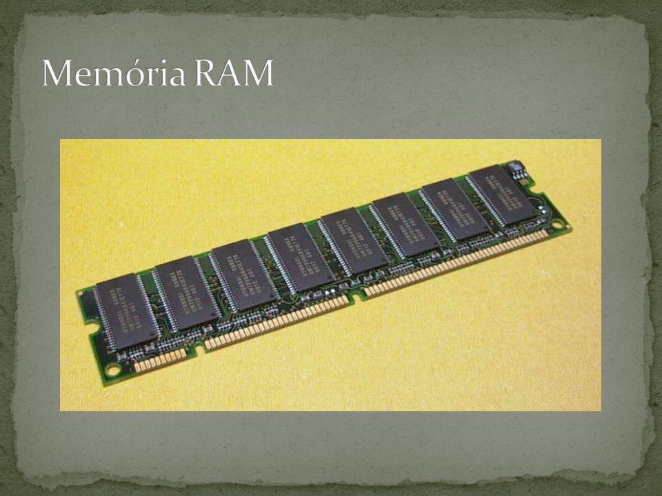 Disco rígido Assim como a memória RAM, o disco rígido armazena programas e dados, porém existem algumas diferenças.