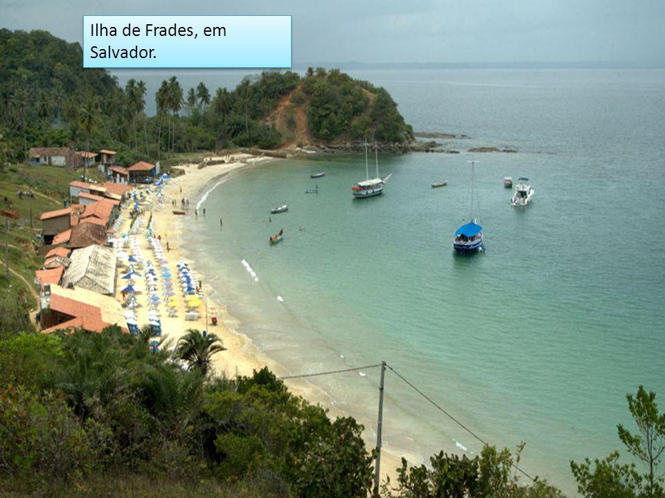 Ilha de Frades, em Salvador.