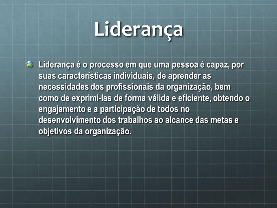 Fatores de influência da Liderança LIDERANÇA ADM.