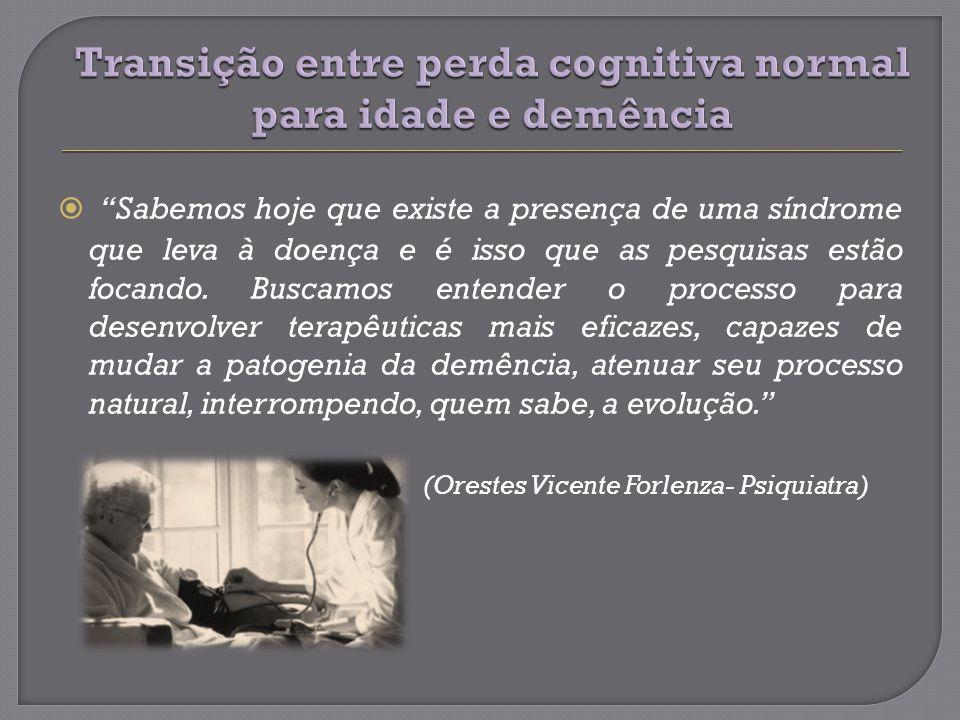 Apatia e retração social síndrome depressiva.