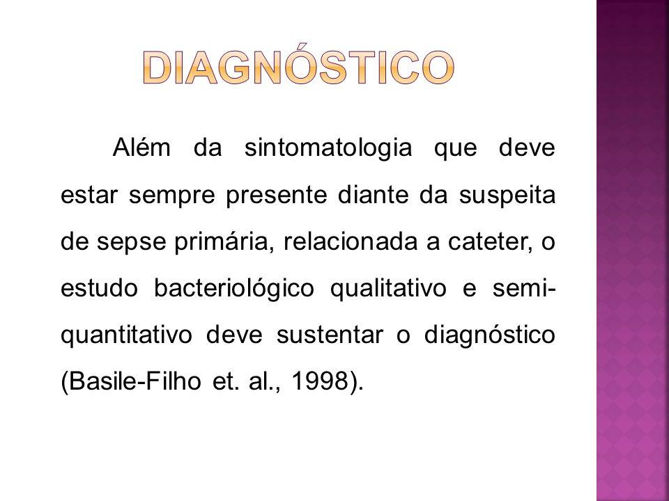 3.Infecção no túnel dos cateteres implantados; 4.