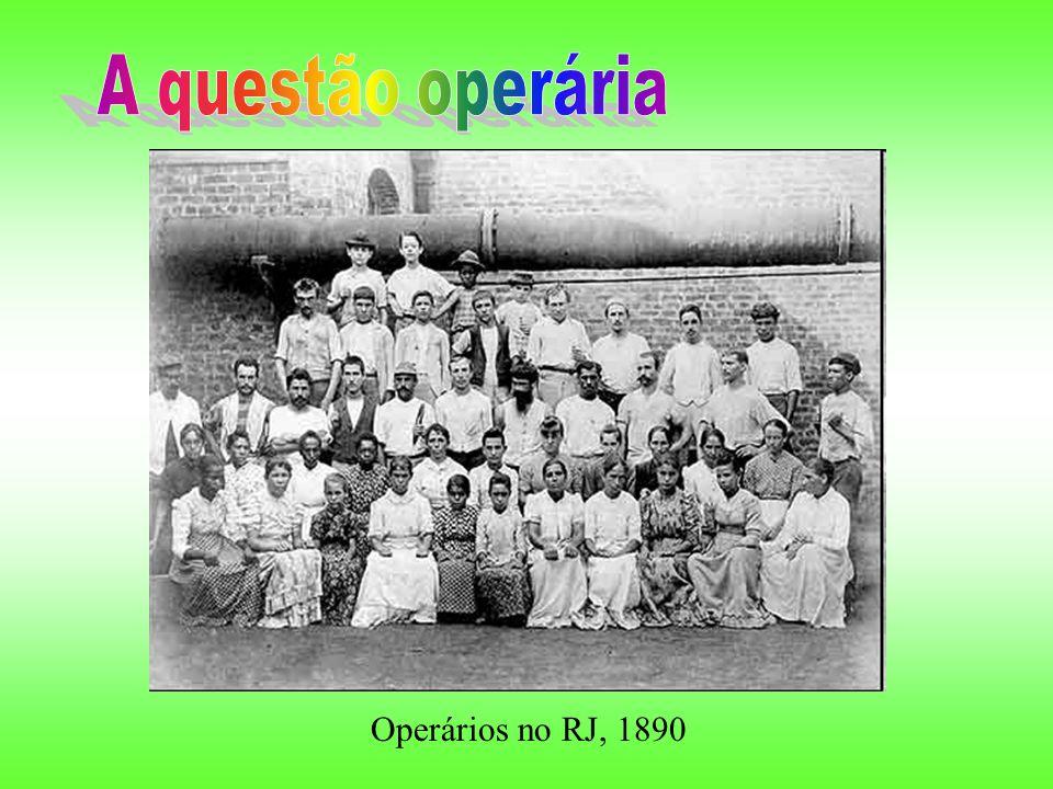 Operários no RJ, 1890