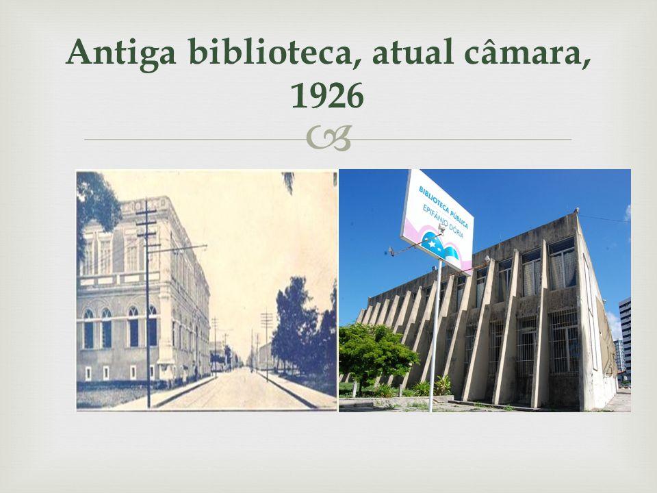 TEATRO ATHENEU Inaugurado em março de 1954, o Teatro Atheneu é o mais antigo espaço cênico de Sergipe.