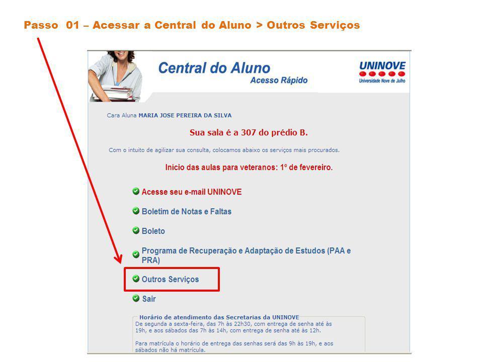 Passo 02 – Acessar Links > Monitorias
