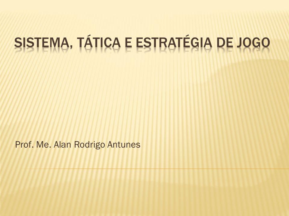 Prof. Me. Alan Rodrigo Antunes