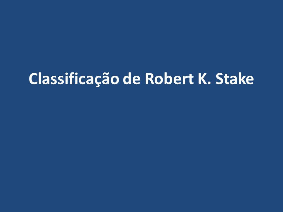 Classificação de Robert K. Stake